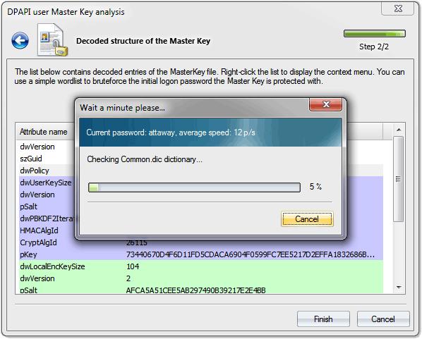 Восстановление пароля пользователя без знания SAM хэша