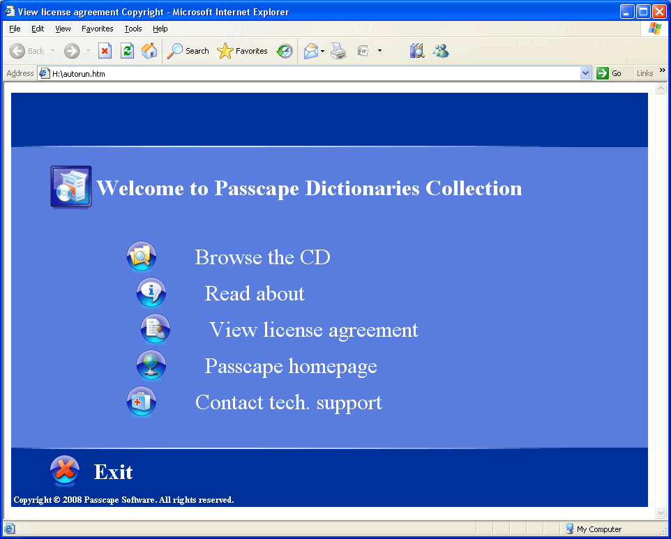 Passcape Wordlist Collection