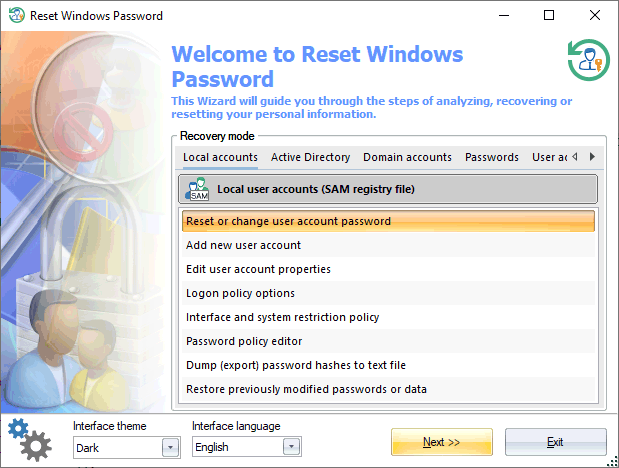 Resultado de imagen para Passcape Reset Windows Password 9