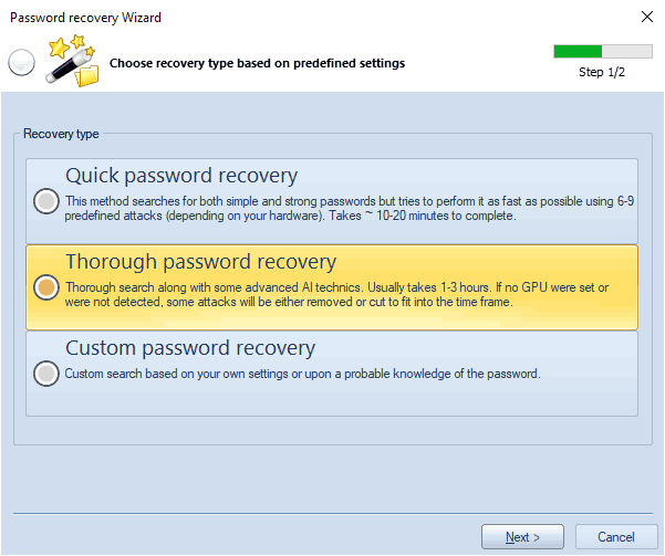 Recovering Windows passwords