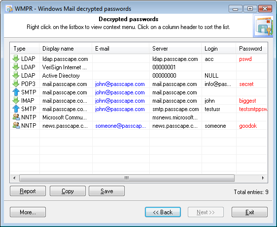 msn messenger password recovery crack